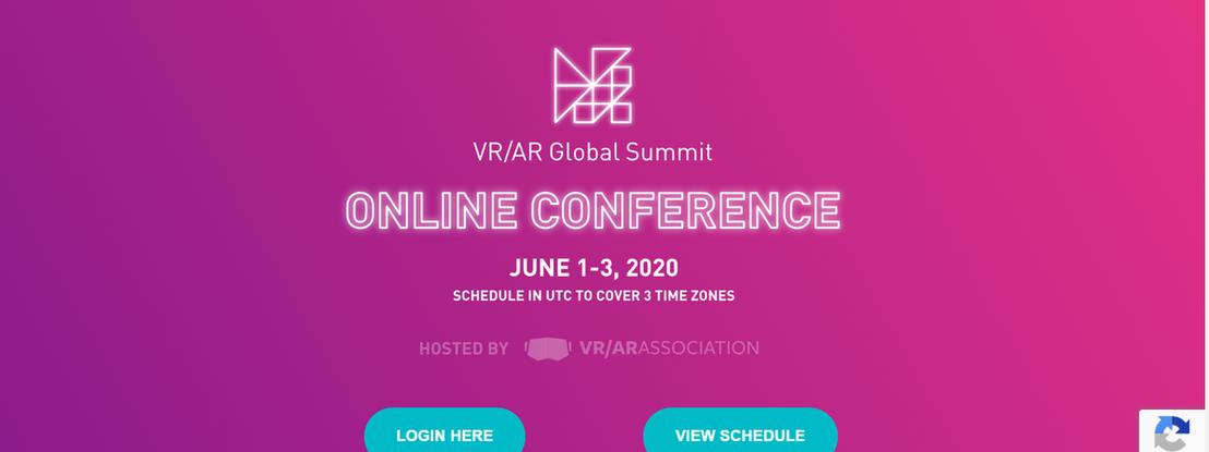 Realidade Aumentada e Virtual em destaque na conferência VR/AR Global Summit Online