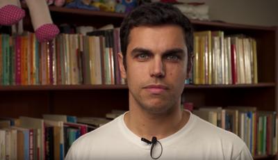 João André: 'ex-moranguito' nunca entregou pizzas nem discutiu com Kasha