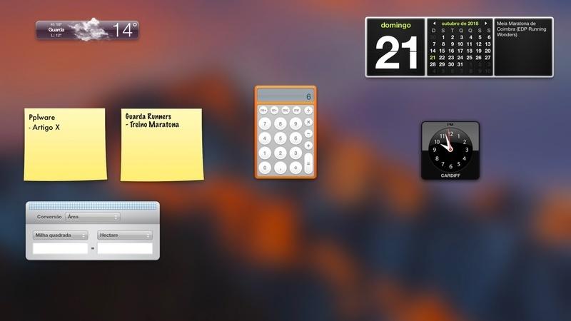 Dica: Não usa o Dashboard do macOS? Saiba como o desativar
