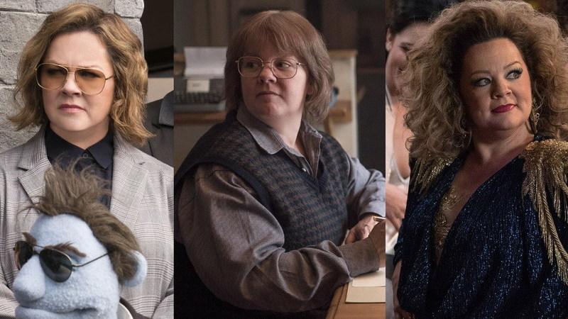 Melissa McCarthy faz o pleno com nomeações para melhor e pior atriz