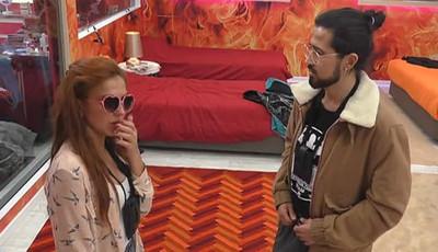 """Gabriela e César de """"Casa dos Segredos 7"""" discutem por ciúmes e segredos"""
