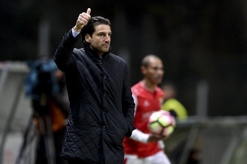 Jorge Simão compara resultados do SC Braga a um eletrocardiograma