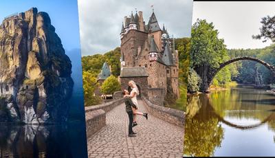 17 locais na Alemanha que parecem saídos de um conto de fadas