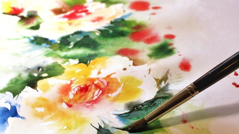 A arte como terapia: Oficina de pintura a aguarela que também ajuda a libertar emoções