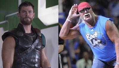 Chris Hemsworth também vai ser Hulk no cinema: Hulk Hogan