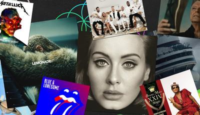De Beyoncé a Coldplay: Os álbuns mais vendidos no último ano