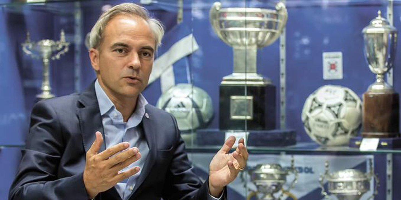 Recorde a conversa: Nas Orelhas da Bola com Patrick Morais de Carvalho, presidente do Belenenses