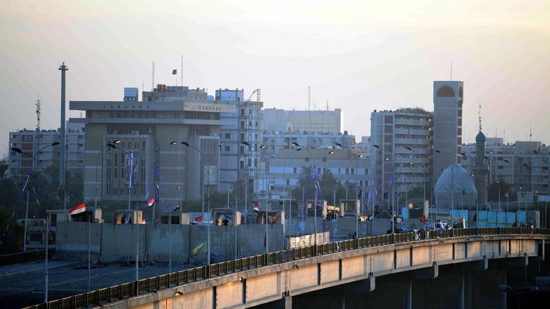 Zona Verde de Bagdade atingida por três projéteis