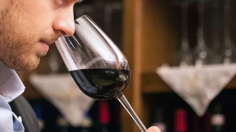 Enólogos e produtores aguardam-nos na nova sala de provas de vinhos, a internet