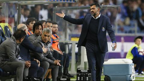 Sérgio Conceição elogiou Aboubakar, falou da ausência de Pepe e exaltou o espírito do balneário