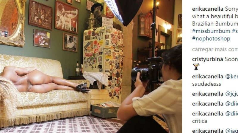 Miss Bumbum provoca Kim Kardashian nas redes sociais