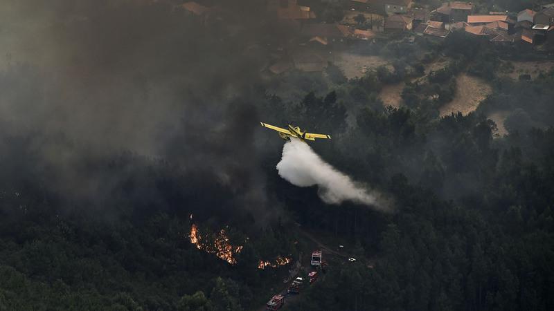 Incêndios: Todos os meios aéreos estão disponíveis, anuncia Governo