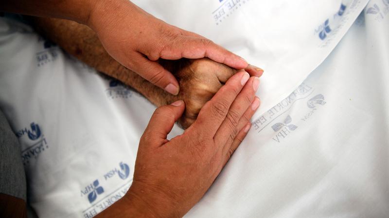 Apenas metade dos doentes morre no local desejado