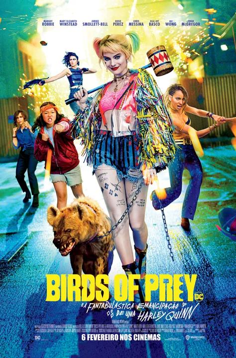 """""""Birds of Prey (e a Fantabulástica Emancipação De Uma Harley Quinn)"""": ganhe convites para as antestreias"""