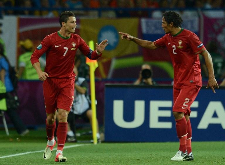 """Bruno Alves: """"Ronaldo pode ser mais rápido e melhor tecnicamente, mas de cabeça..."""""""
