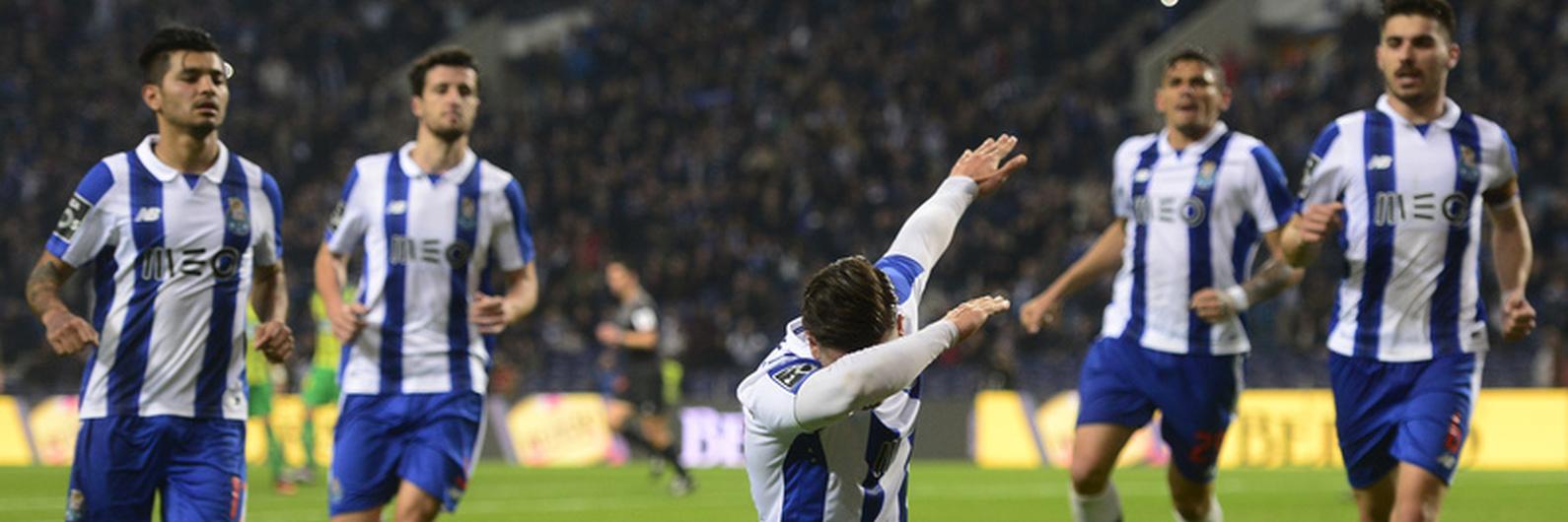FC Porto está a um jogo de superar a melhor série do campeonato
