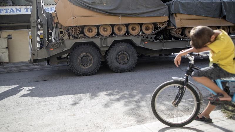 UE condena ofensiva turca na Síria e apela a cessar imediato de ação militar