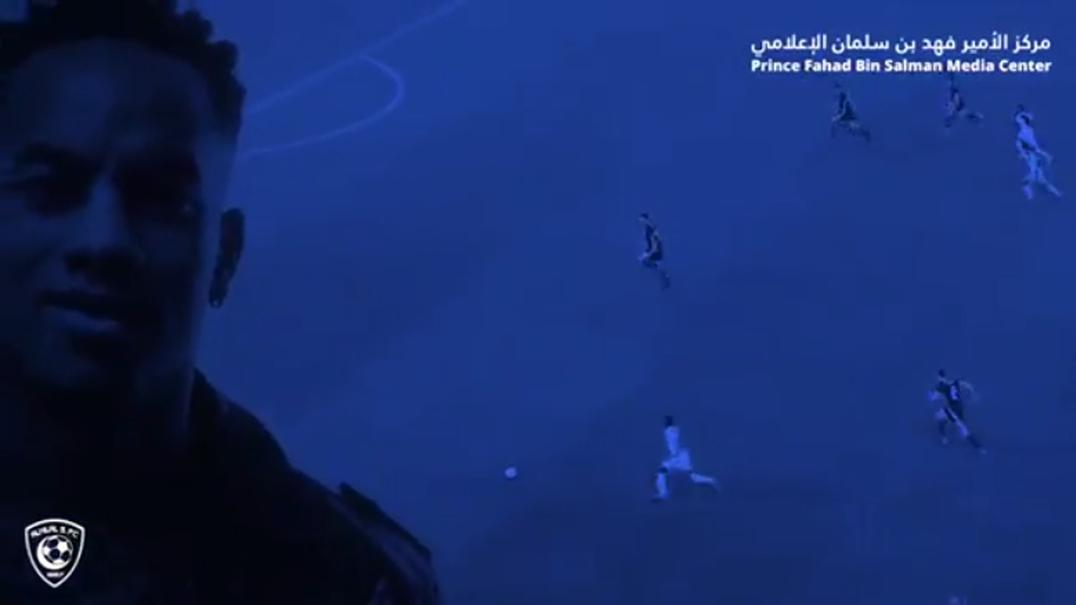 É assim que André Carrillo foi anunciado no Al-Hilal