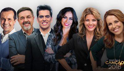 De Jorge Gabriel a Filomena Cautela: RTP já escolheu os apresentadores para o Festival da Canção