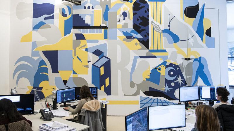 Modernos, tecnológicos, artísticos: os novos espaços de trabalho