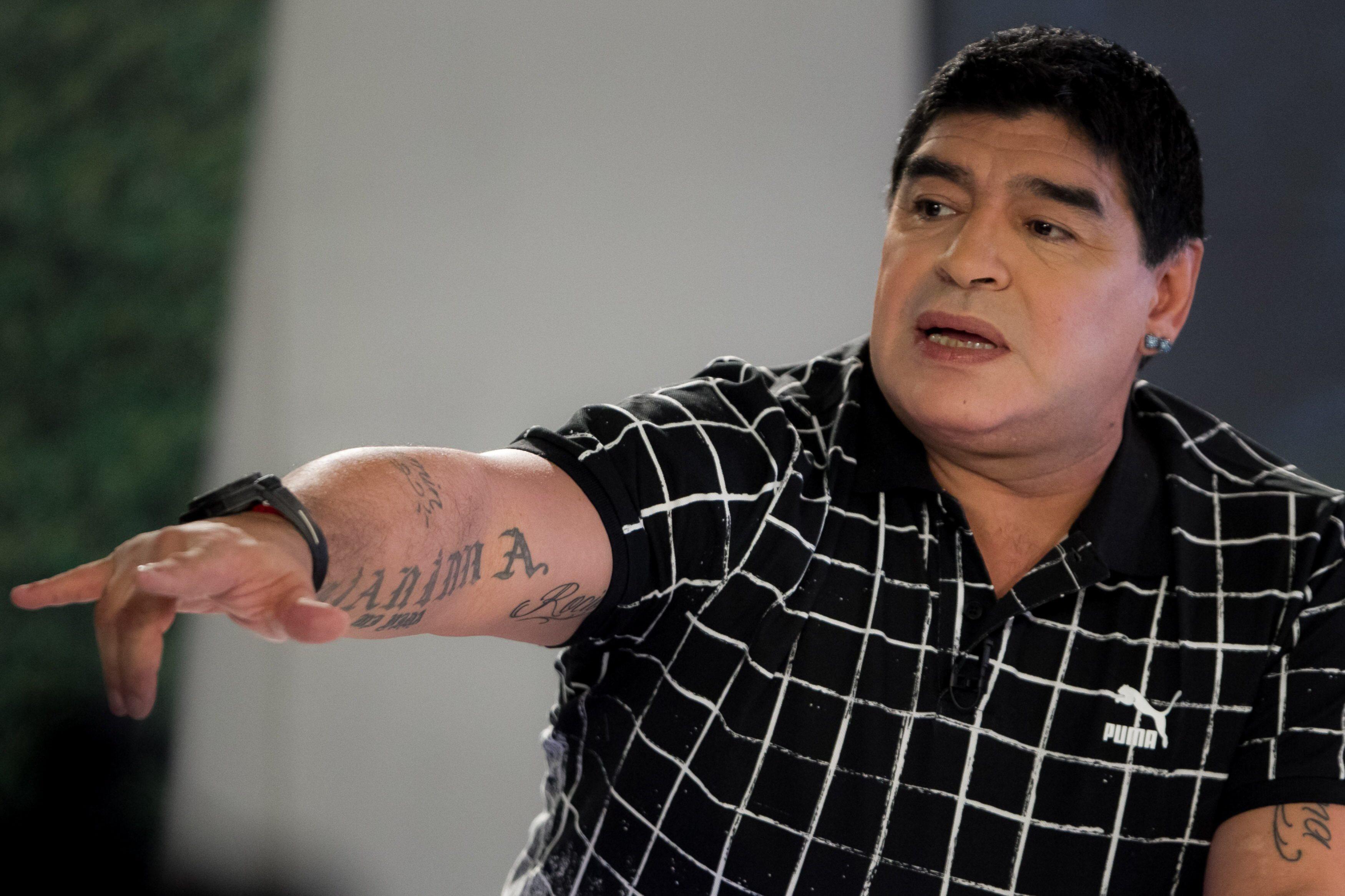 Grémio vs. Real Madrid? Maradona aposta na equipa brasileira