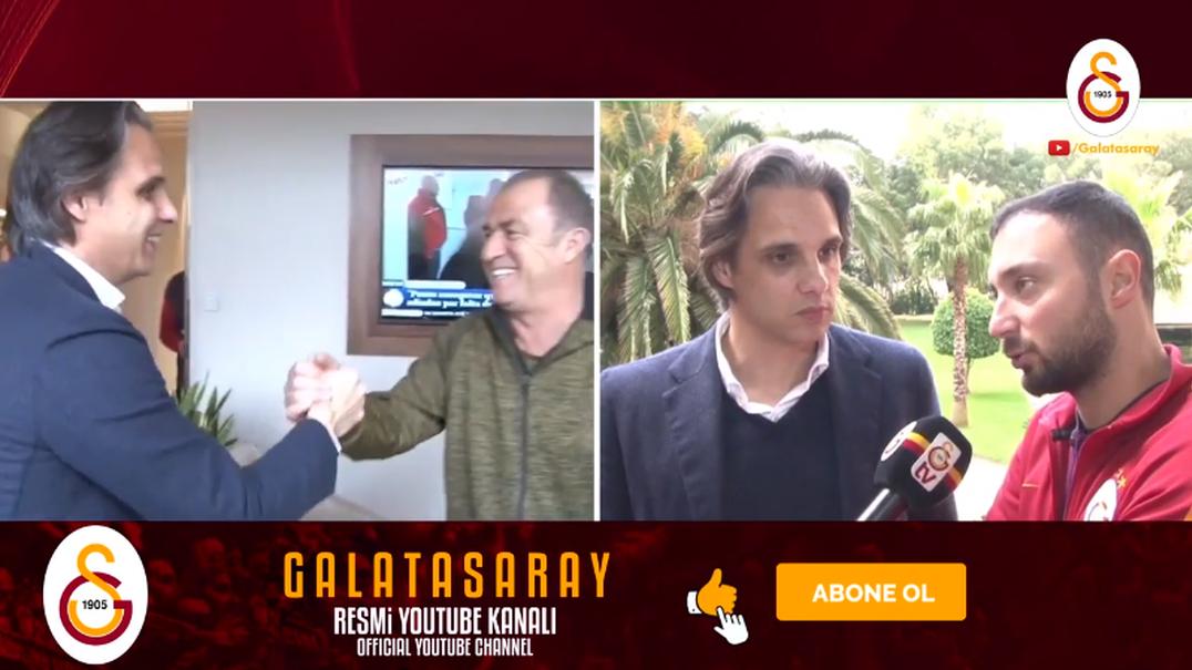 Nuno Gomes encontrou-se com o treinador do Galatasaray