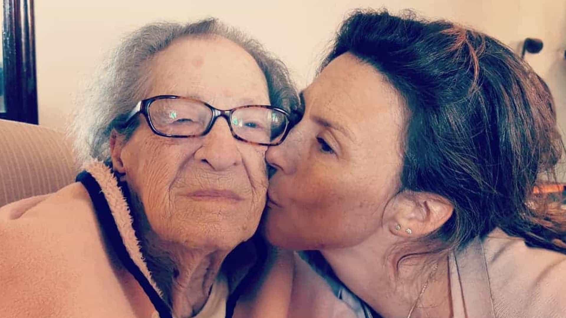 """Sofia Cerveira: """"O meu amor maior cumpre hoje 93 anos"""""""