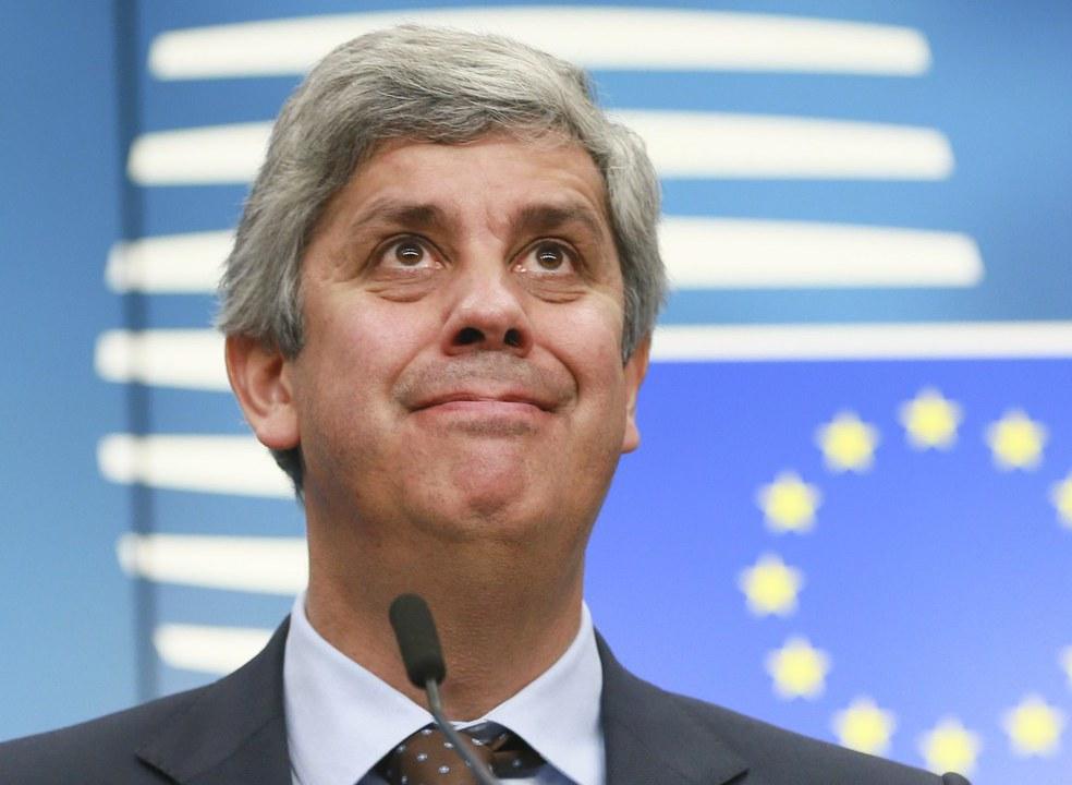 Mário Centeno conta espingardas no Eurogrupo