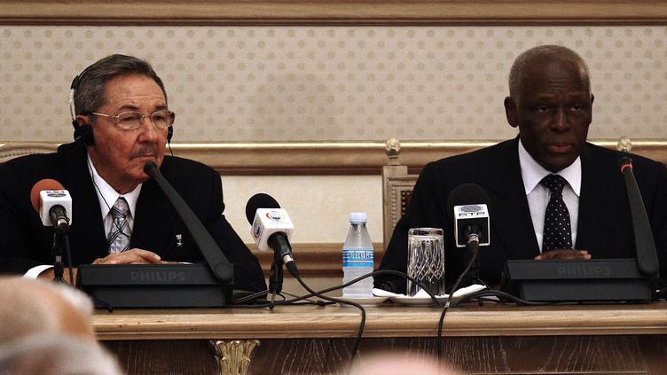 Raul Castro em Angola