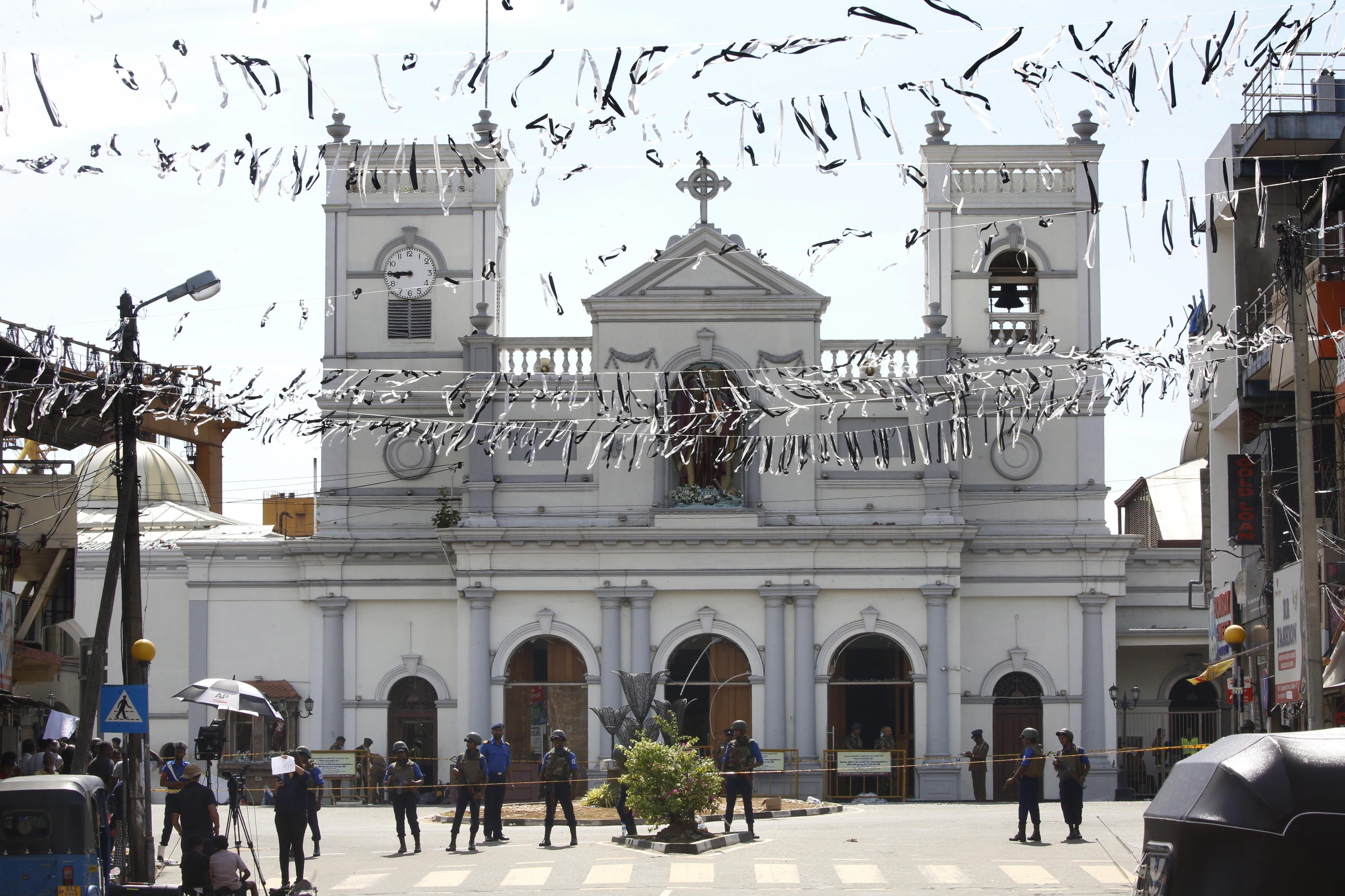 Igrejas no Sri Lanka vão permanecer fechadas até situação se segurança melhorar