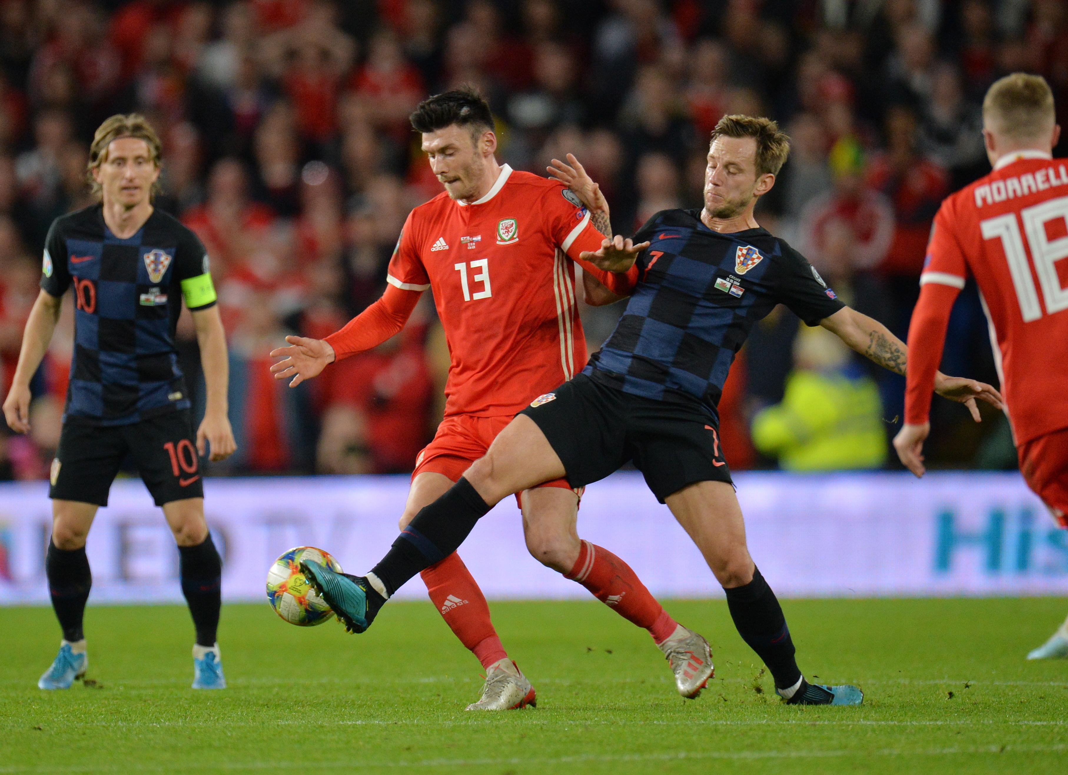 Euro 2020: Croácia desperdiça vantagem no País de Gales e permite aproximação da Hungria