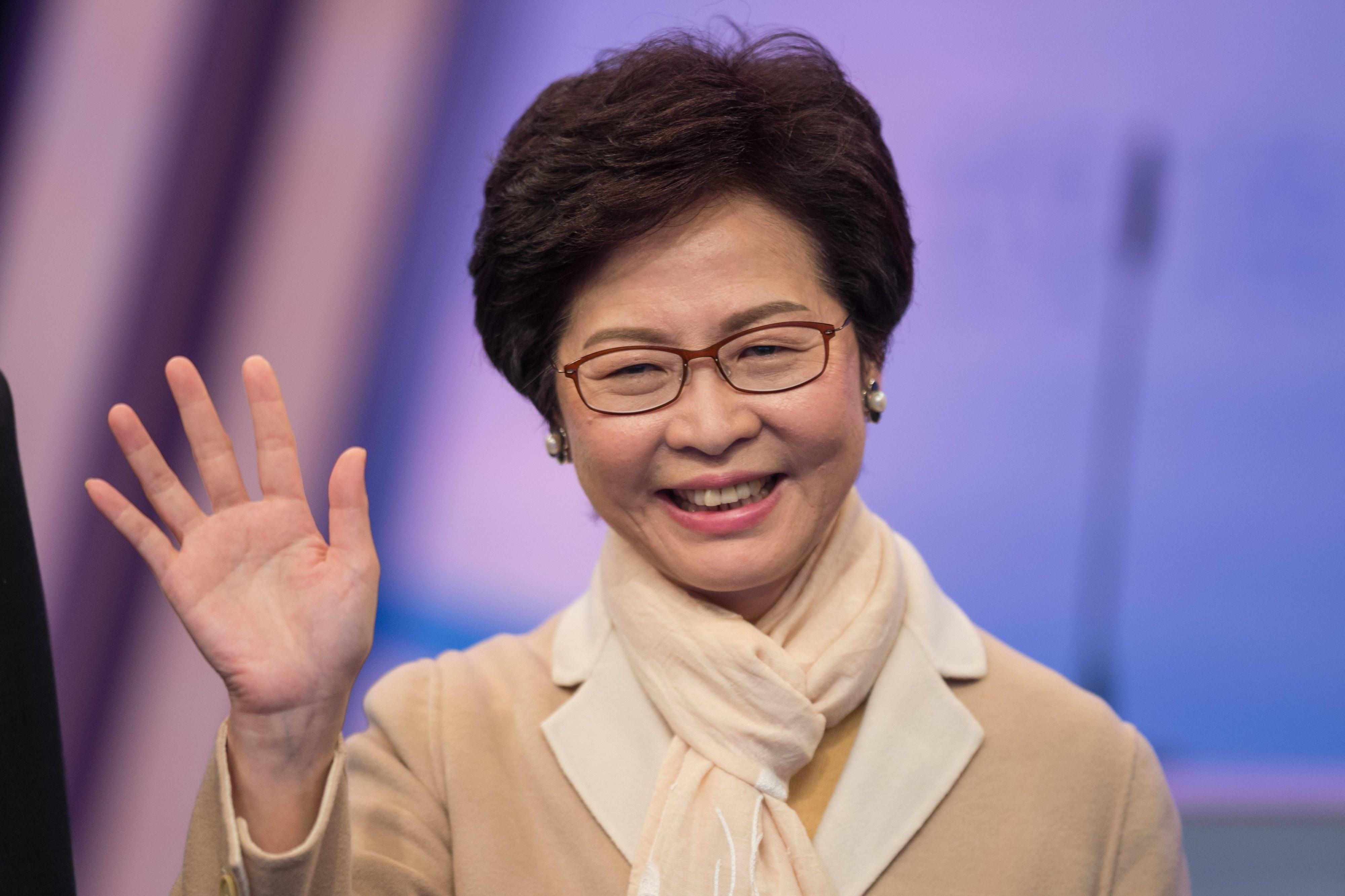 Carrie Lam é a primeira mulher a liderar o Governo de Hong Kong