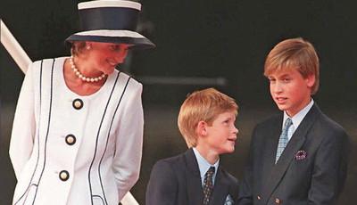 Foi assim a última conversa de William com a princesa Diana