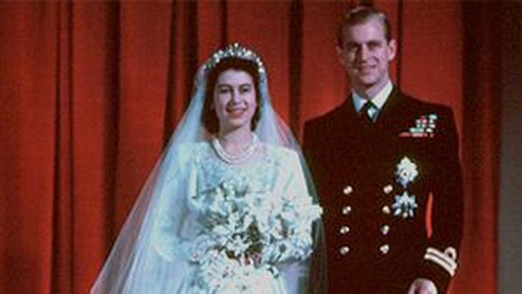 Recorde o casamento de Isabel II