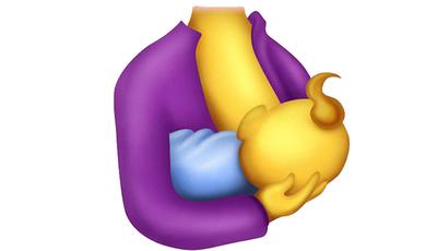 Emoji de mãe a amamentar poderá estar para breve