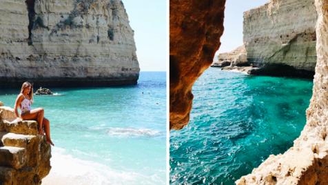 """Os 5 melhores """"Instagram spots"""" no Algarve"""