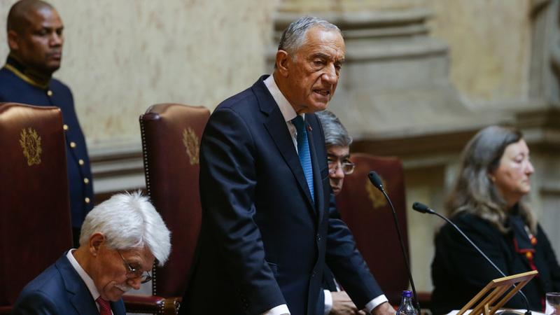 """Marcelo critica """"protagonistas cimeiros"""" que agora esquecem os direitos humanos"""