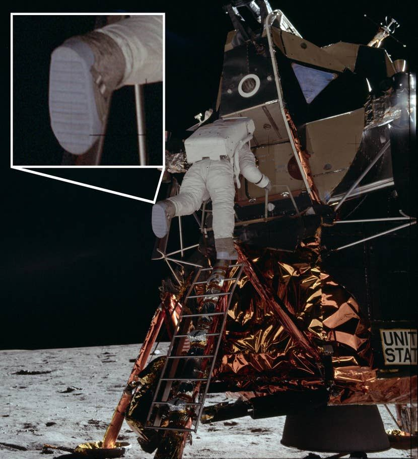 Botas de Neil Armstrong denunciam a farsa da ida à Lua?