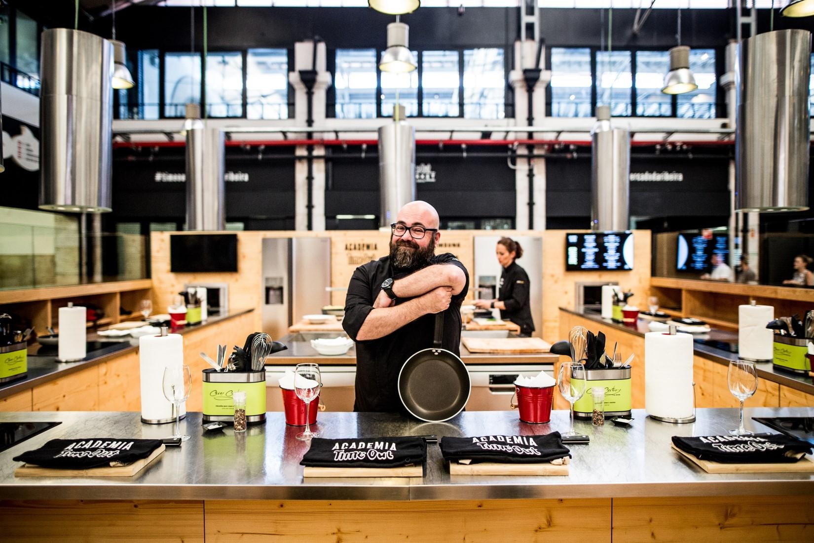 Começar o ano aprender a cozinhar é a proposta da Academia Time Out