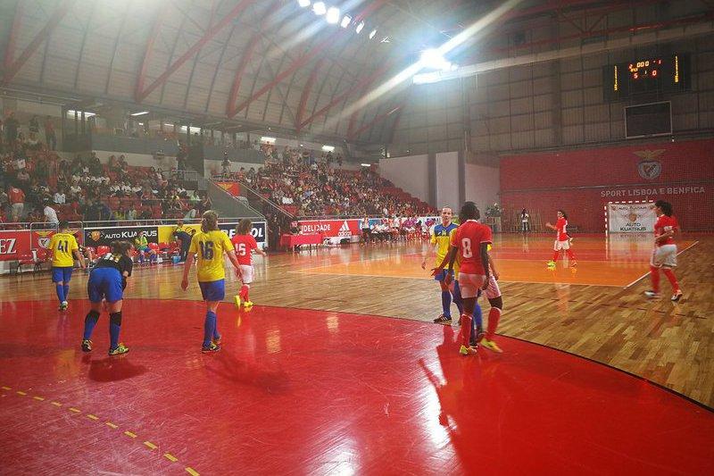 Benfica consegue 'triplete' inédito no futsal feminino