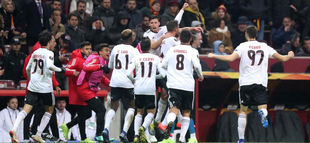 Liga Europa: Benfica só desperdiçou um triunfo fora, Sporting só virou uma derrota caseira