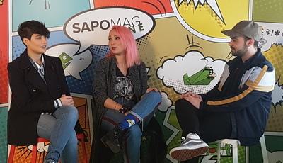 """Cláudia Pascoal e Isaura no SAPO: """"Há pessoas que não sabem português mas compreendem esta história"""""""