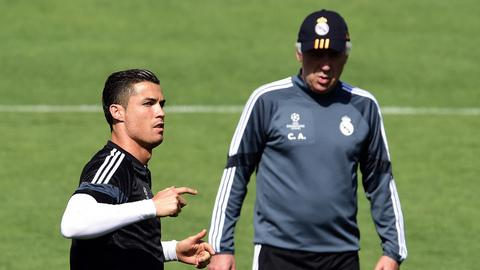 Ancelotti: &quote;Tive de ouvir Cristiano Ronaldo e adaptar-me&quote;