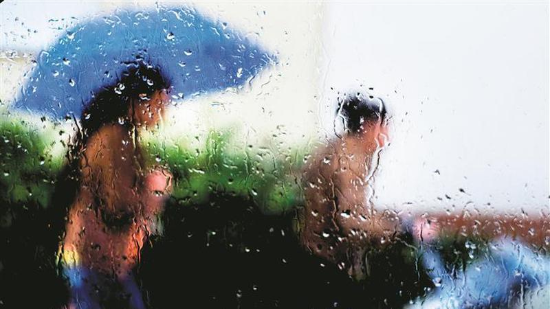 Não se esqueça do guarda-chuva. A previsão é de uma sexta-feira molhada