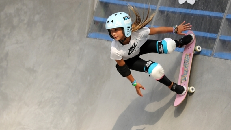 Sky Brown tem 11 anos e pode vir a ser a mais jovem atleta a participar nos Jogos Olímpicos