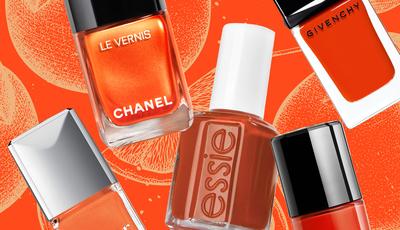 Alerta laranja: a cor deste outono já invadiu as manicuras no Instagram