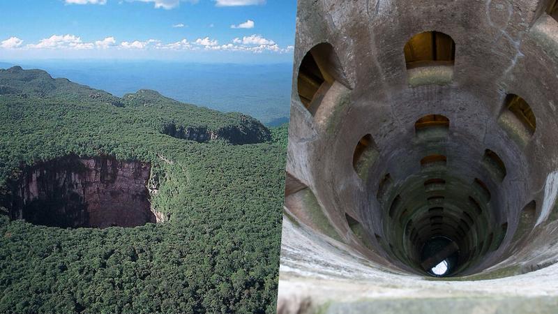 10 locais fascinantes que parecem um portal para o submundo. Dois deles ficam em Portugal