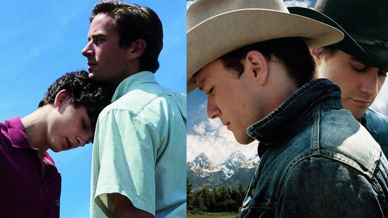 """De """"Chama-me Pelo Teu Nome"""" a """"Brokeback Mountain"""": O cinema LGBT que chegou ao grande público"""