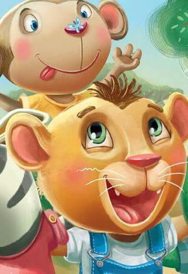 """Ganhe o livro """"Simão o pequeno leão: é tão bom ter amigos!"""""""
