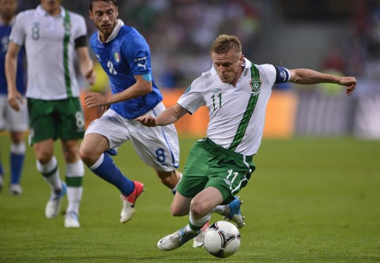 Damien Duff deixa Celtic para se concentrar em ser adjunto na seleção irlandesa